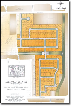 purchase lots in Graham Ranch subdivision in North Richland Hills